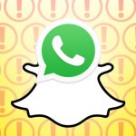 whatsapp like snapchat